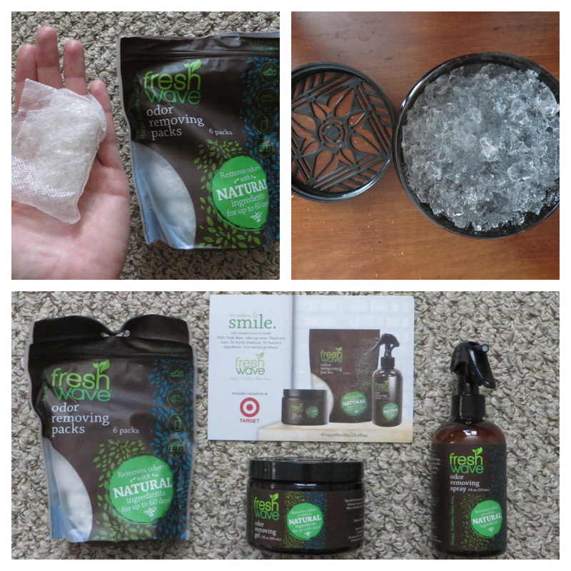 US-Japan Fam reviews Fresh Wave natural odor eliminating products.