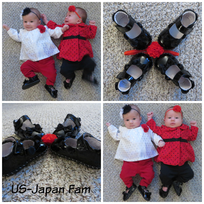 US-Japan Fam loves pediped children's shoes!