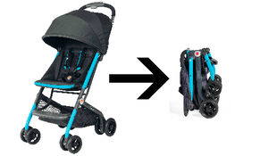 US-Japan Fam loves GB's Qbit stroller!