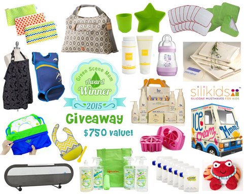 $750 Value Green Scene Mom Winter Awards Giveaway