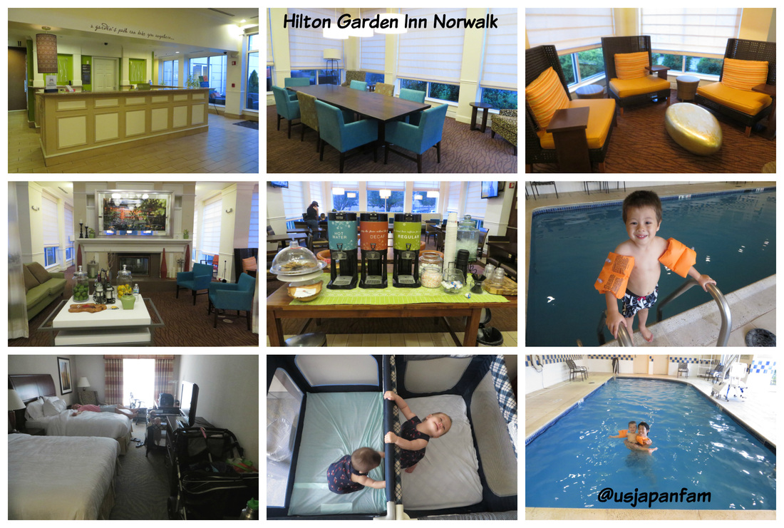 US Japan Fam recommends Hilton Garden Inn Norwalk