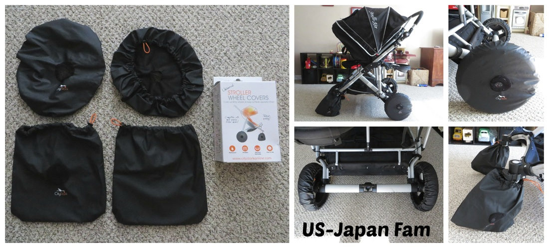 US-Japan Fam reviews City Stork's Stroller Wheel Covers