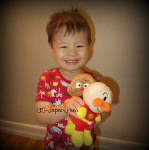 US-Japan Fam loves Anpanman!