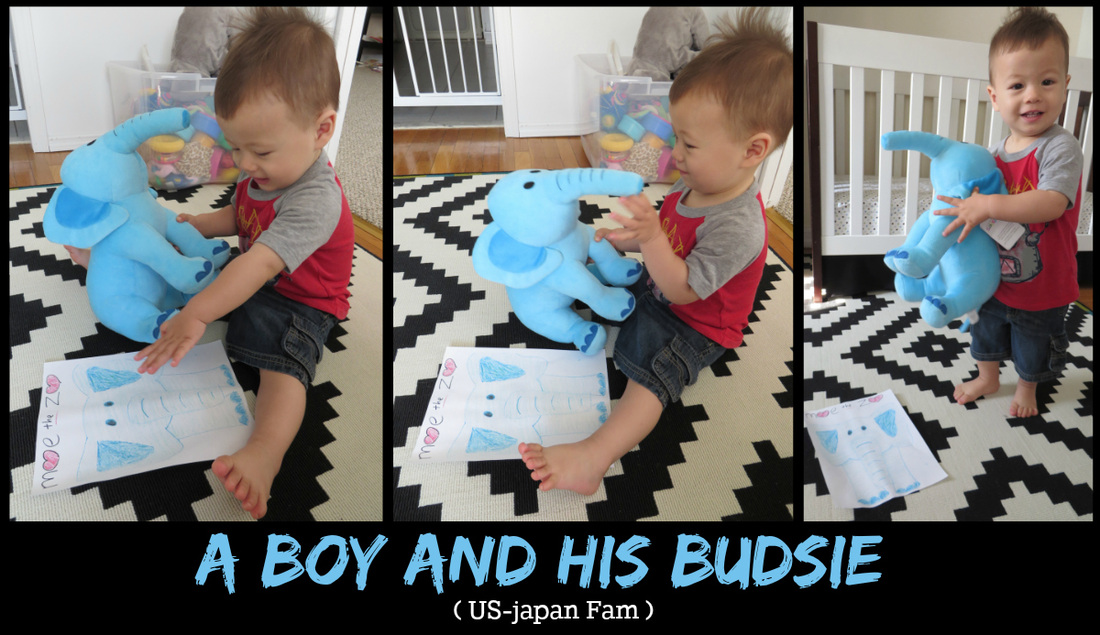 US-Japan Fam reviews Budsies - Miny Moe's mascot has come to life!