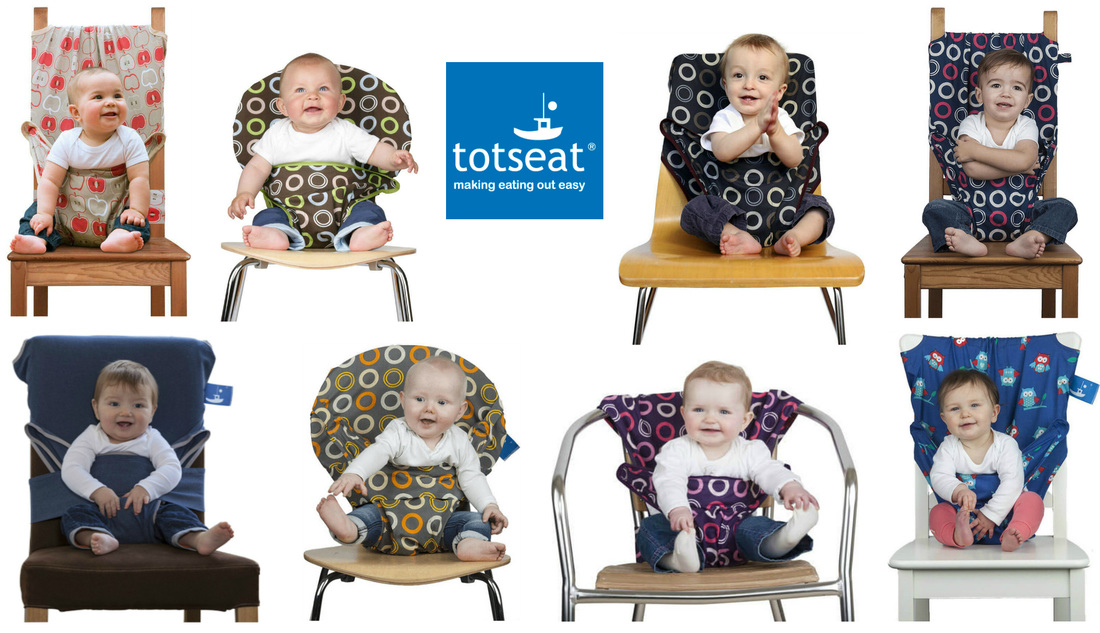 Totseat - the portable highchair