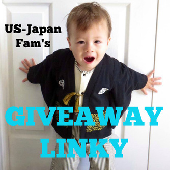 US-Japan Fam's Giveaway Linky - Come here to enter giveaways or to list your own!