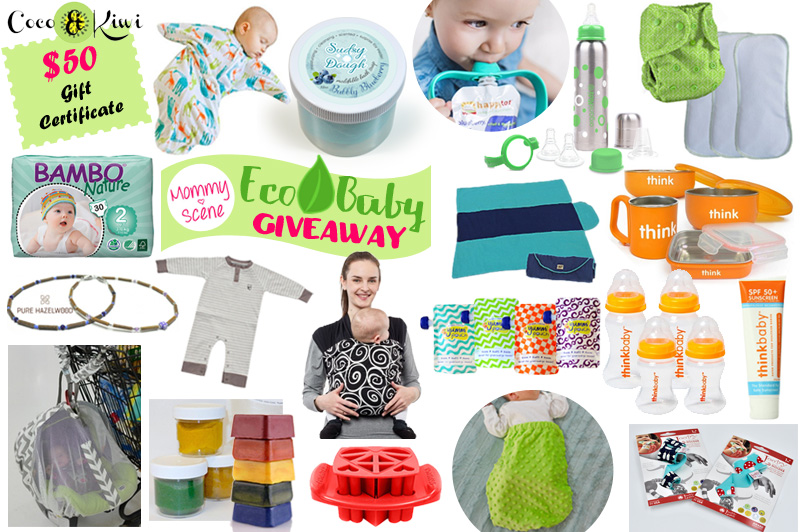 Mommy Scene's Eco Baby Giveaway featured on US-Japan Fam