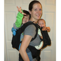 US Japan Fam loves TwinGo Carrier for tandem babywearing!