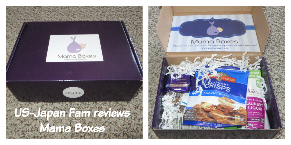 US-Japan Fam reviews Mama Boxes for pregnant mothers