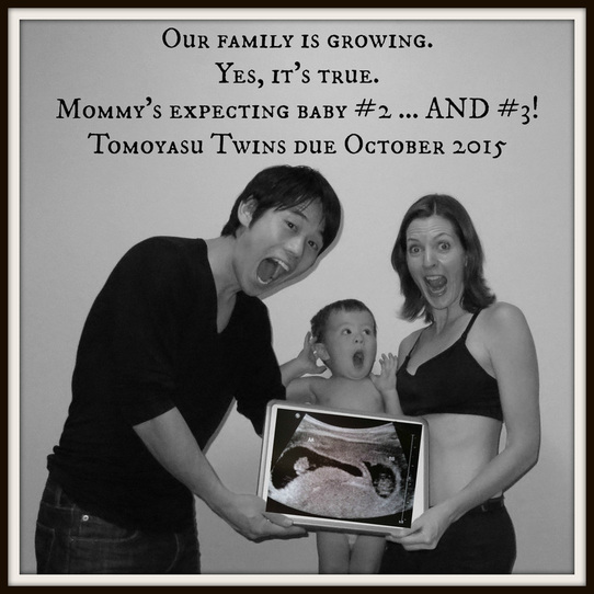 US-Japan Fam's twin pregnancy announcement
