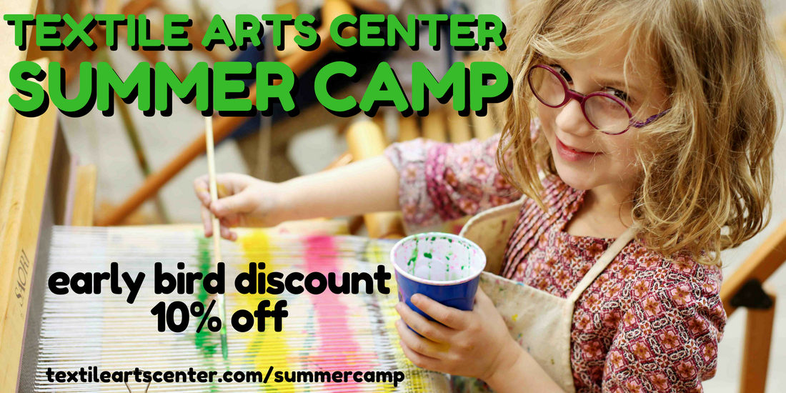Textile Arts Center Summer Camp in Brooklyn and Manhattan