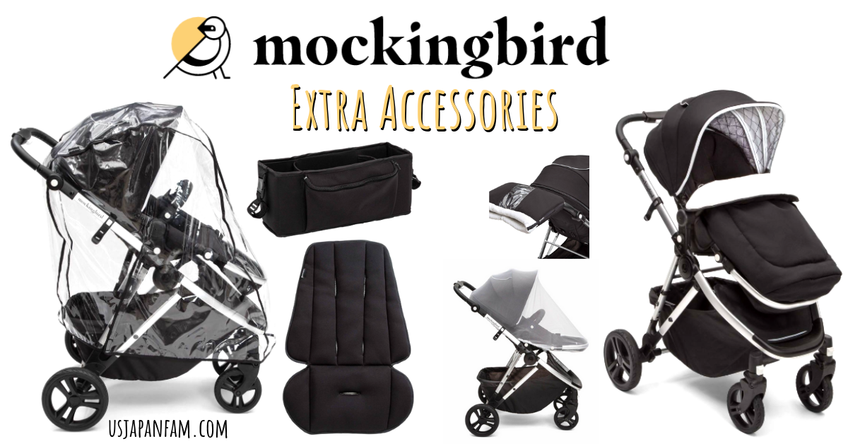 US Japan Fam reviews Mockingbird Stroller with TONS of great accessories!