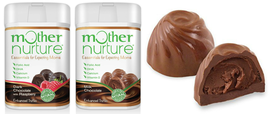 US Japan Fam reviews Mother Nurture Enhanced Chocolate Truffles