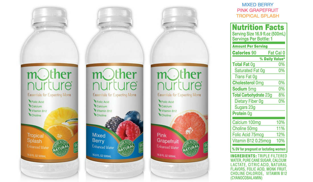 US Japan Fam reviews Mother Nurture Enhanced Waters