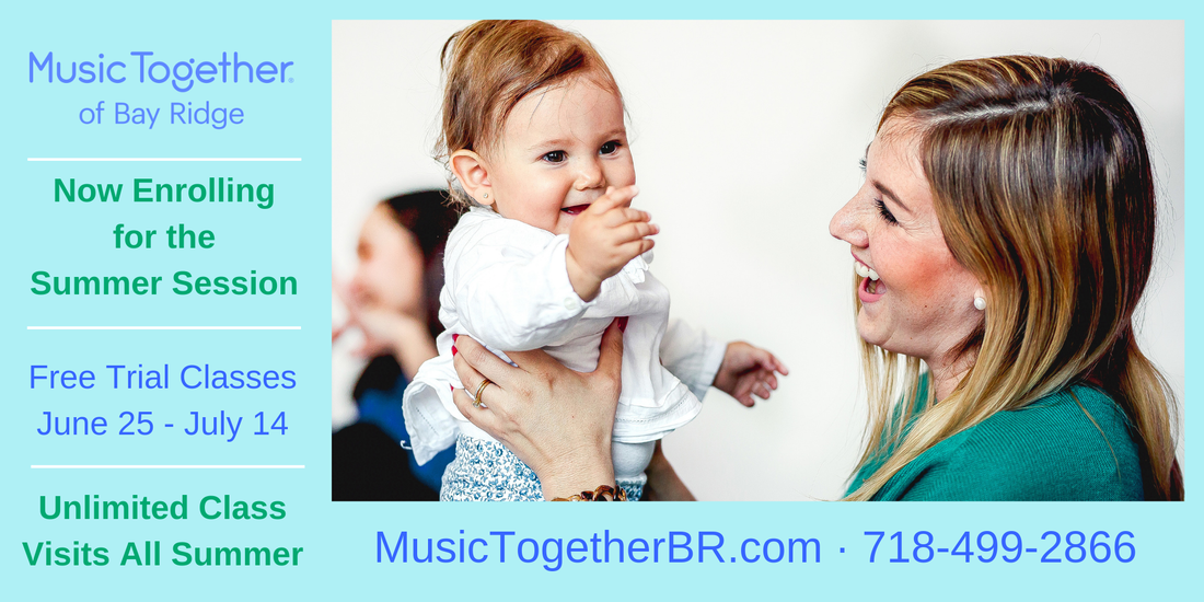 Music Together of Bay Ridge - free trial classes June 25 - July 14, 2019
