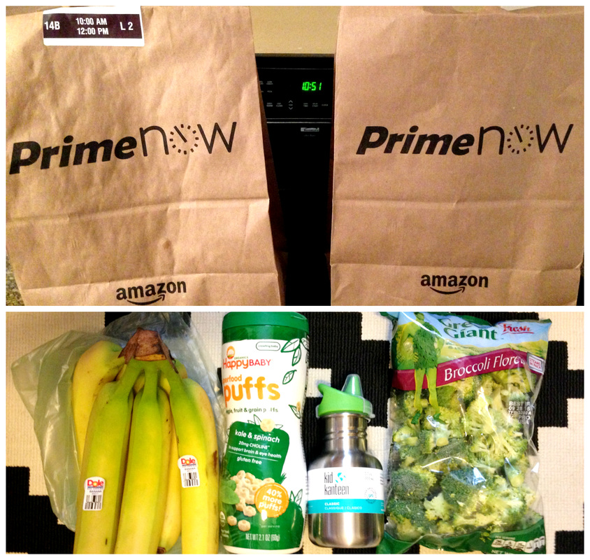 Free 2-hour delivery through Amazon Prime Now!