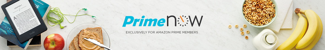 Prime Now offers free delivery in 2 hours!