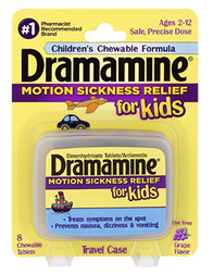 US Japan Fam's favorite products for car sick kids: Dramamine