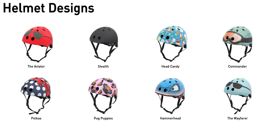 Helmet Designs, Mini Hornit LIDS
