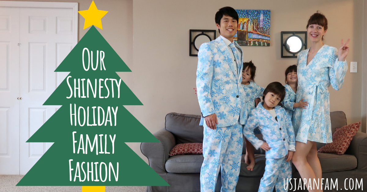 Our Coordinating Holiday Family Outfits - Shinesty Review