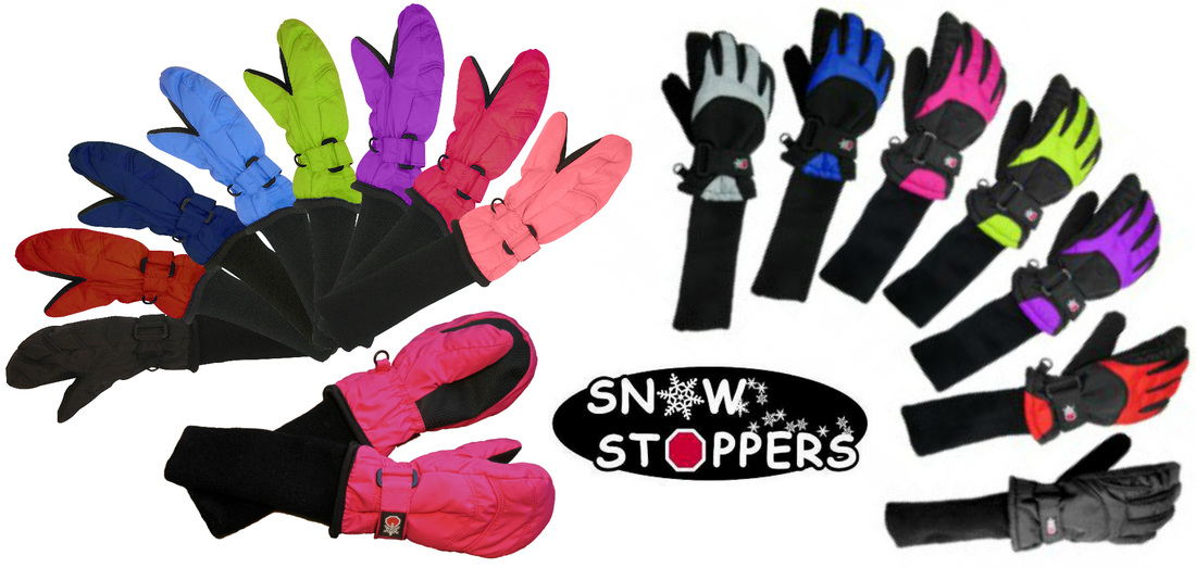 The best mittens and gloves for kids, SnowStoppers!!