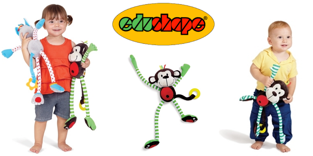 Win EduShape's Happy Monkey toy in US Japan Fam's $600 value Toddler Fall Faves Giveaway!