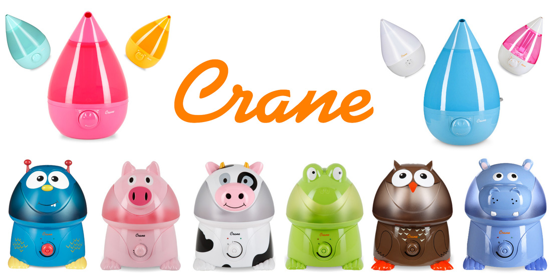 US Japan Fam loves Crane's Freddy the Frog Adorable Humidifier