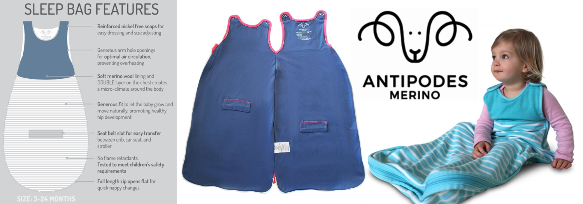 Win an Antipodes Merino Sleeping Bag in US Japan Fam's $500 value