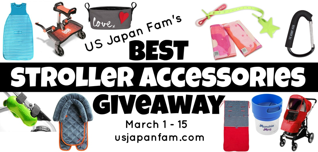 Win $500 worth of the best stroller accessories in this giveaway by US Japan Fam, ending March 15, 2017!