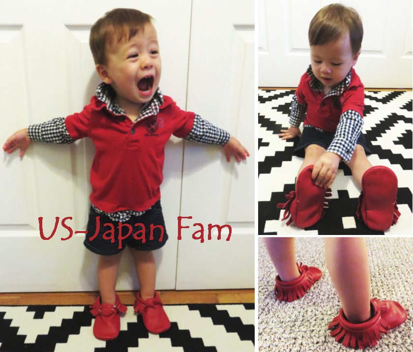 US Japan Fam loves Freshly Picked Moccasins