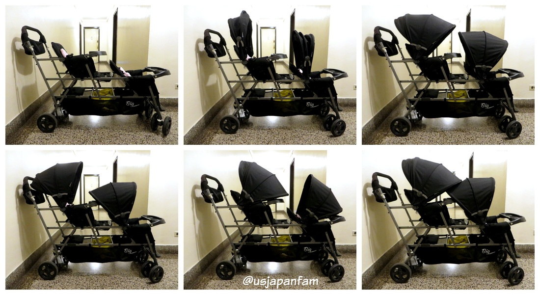 US Japan Fam loves Joovy's Big Caboose triple stroller