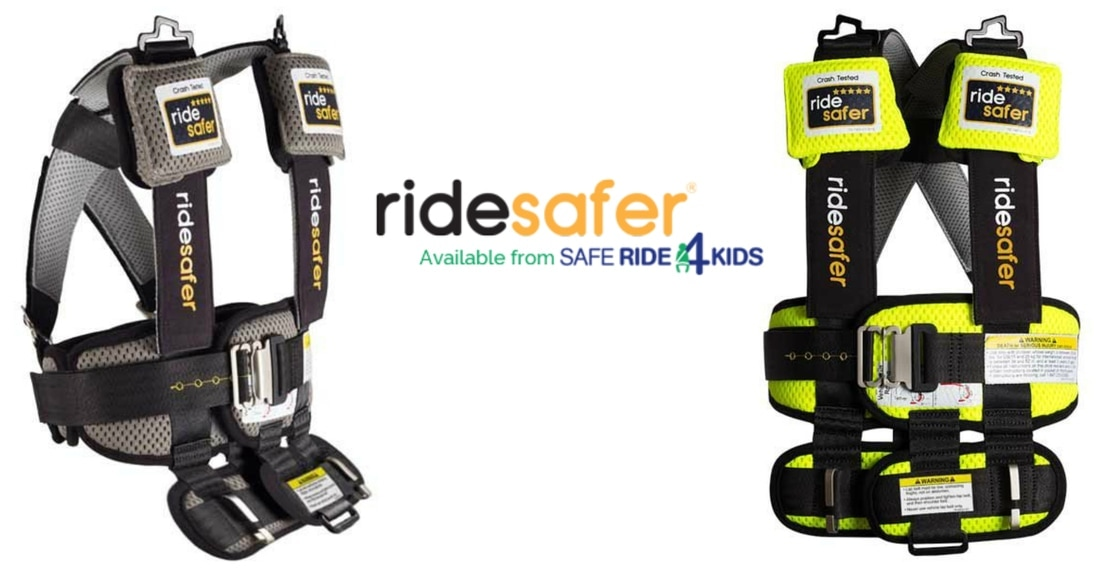 Ride Safer Travel Vest:  US Japan Fam's #1 pick from the 2017 New York Baby Show!