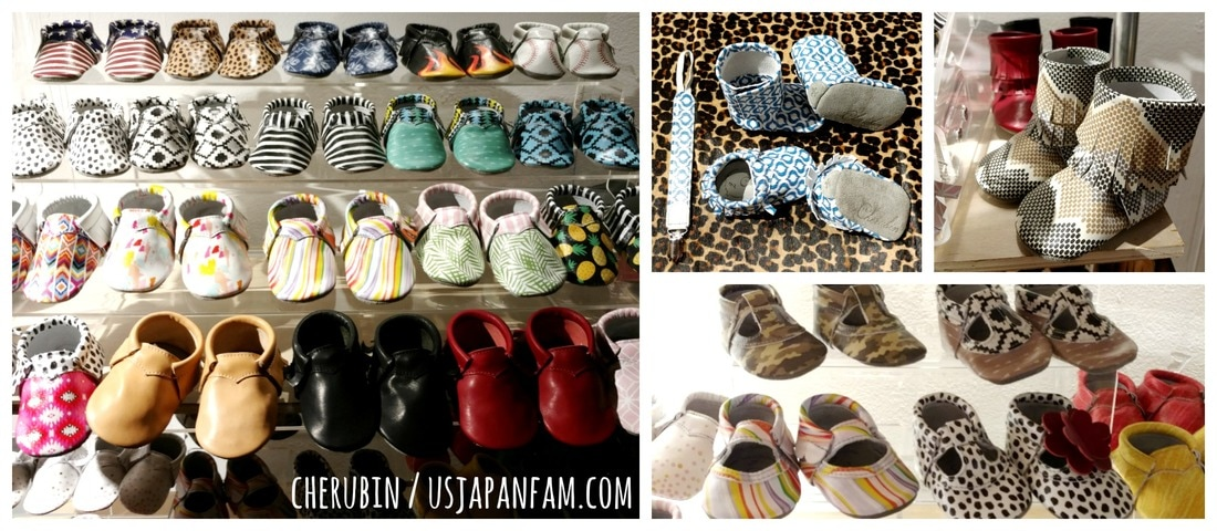 US Japan Fam loves Cherubin's moccs from the Playtime New York trade show!