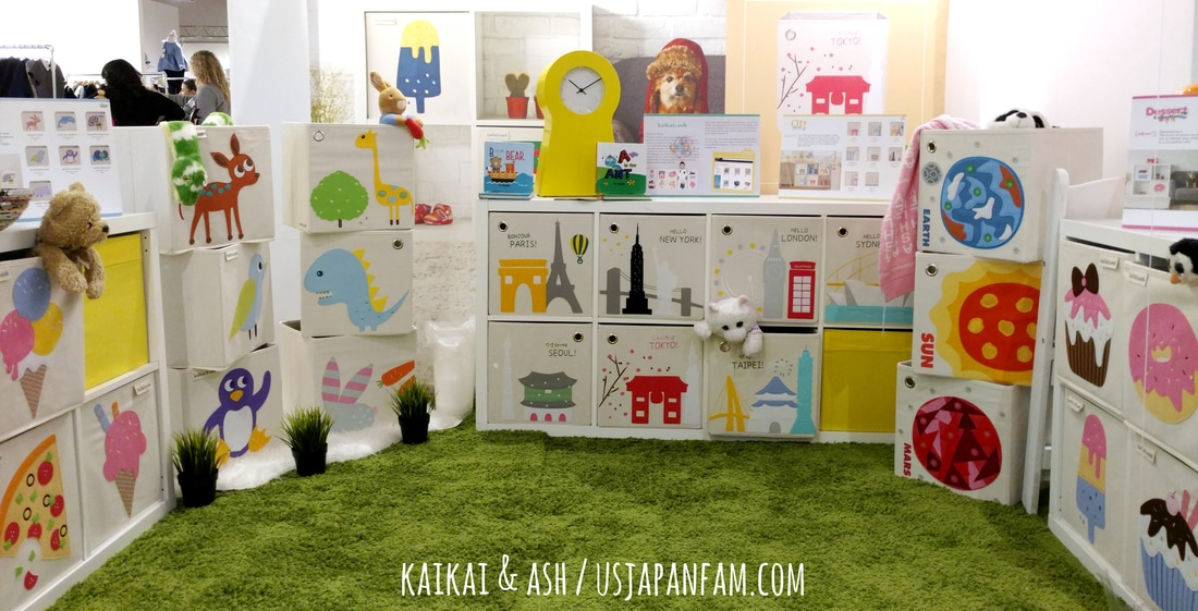 US Japan Fam loves KaiKai & Ash's storage boxes from the Playtime New York trade show!