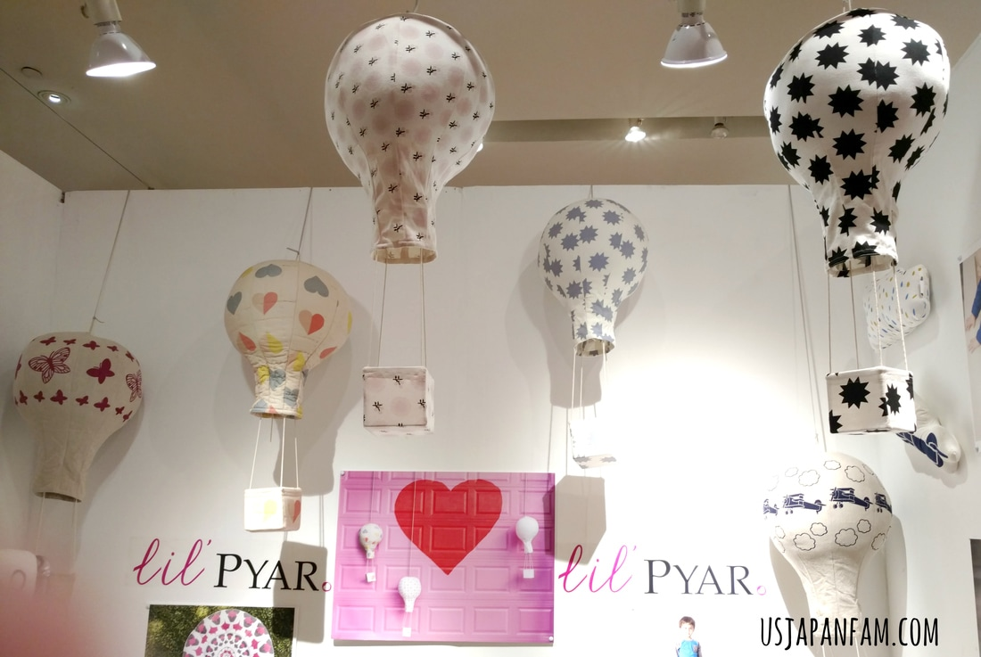 US Japan Fam loves Lil' Pyar mobiles from the Playtime New York trade show!