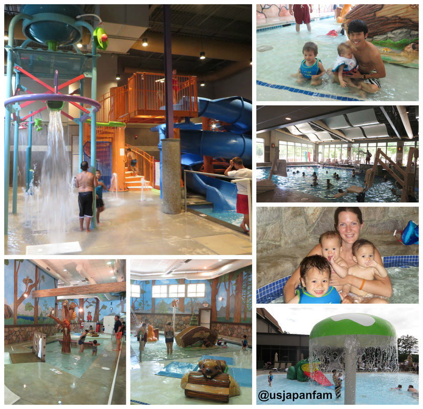 Great indoor and outdoor options for babies, kids, and adults at Woodloch Resort!