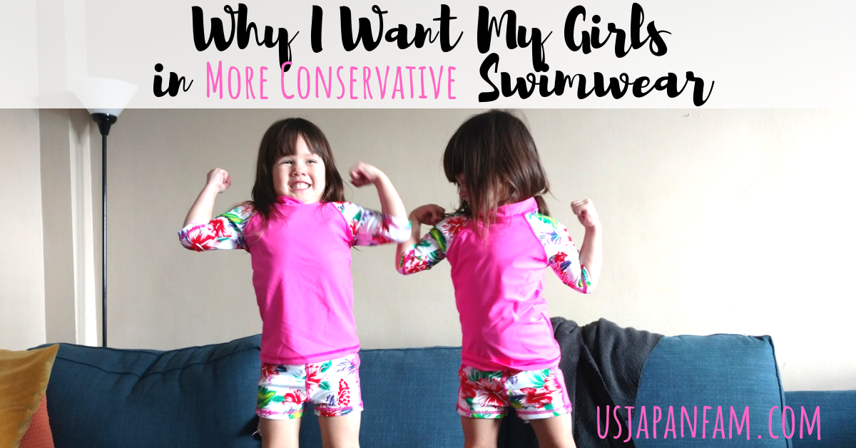 Why I Want My Girls in More Conservative Swimwear