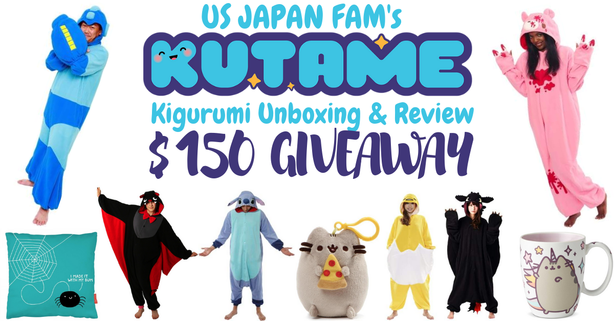 US Japan Fam review & $150 giveaway of Kigurumi onesie costumes from Kutame