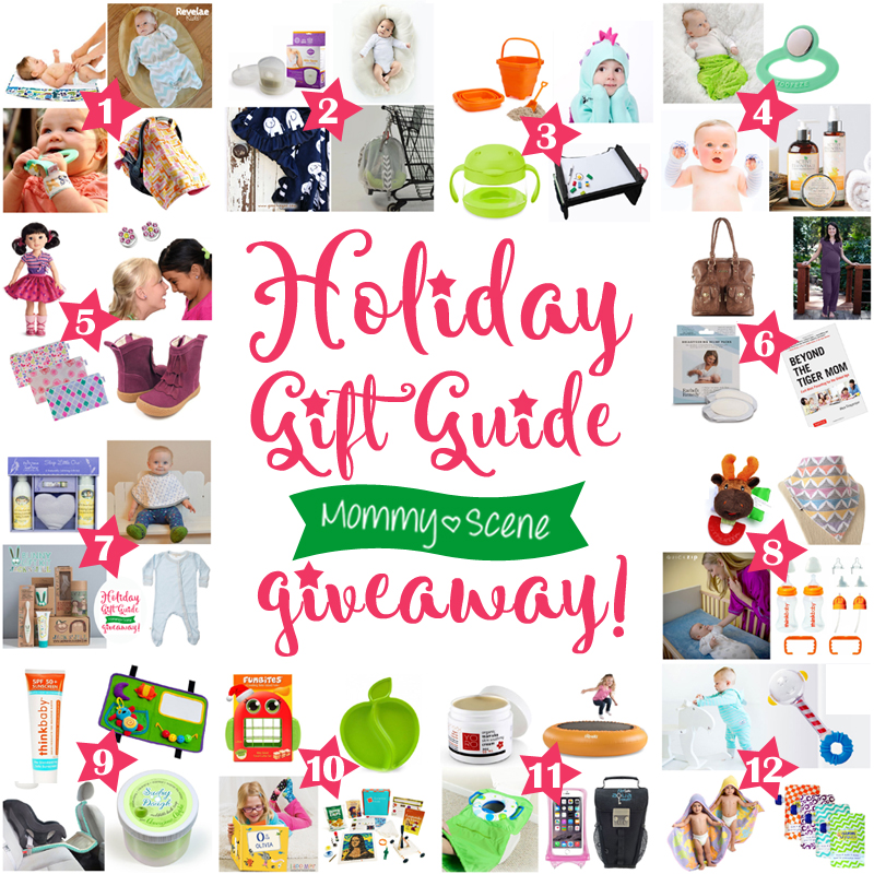 Mommy Scene's 12 Days of Christmas Giveaway