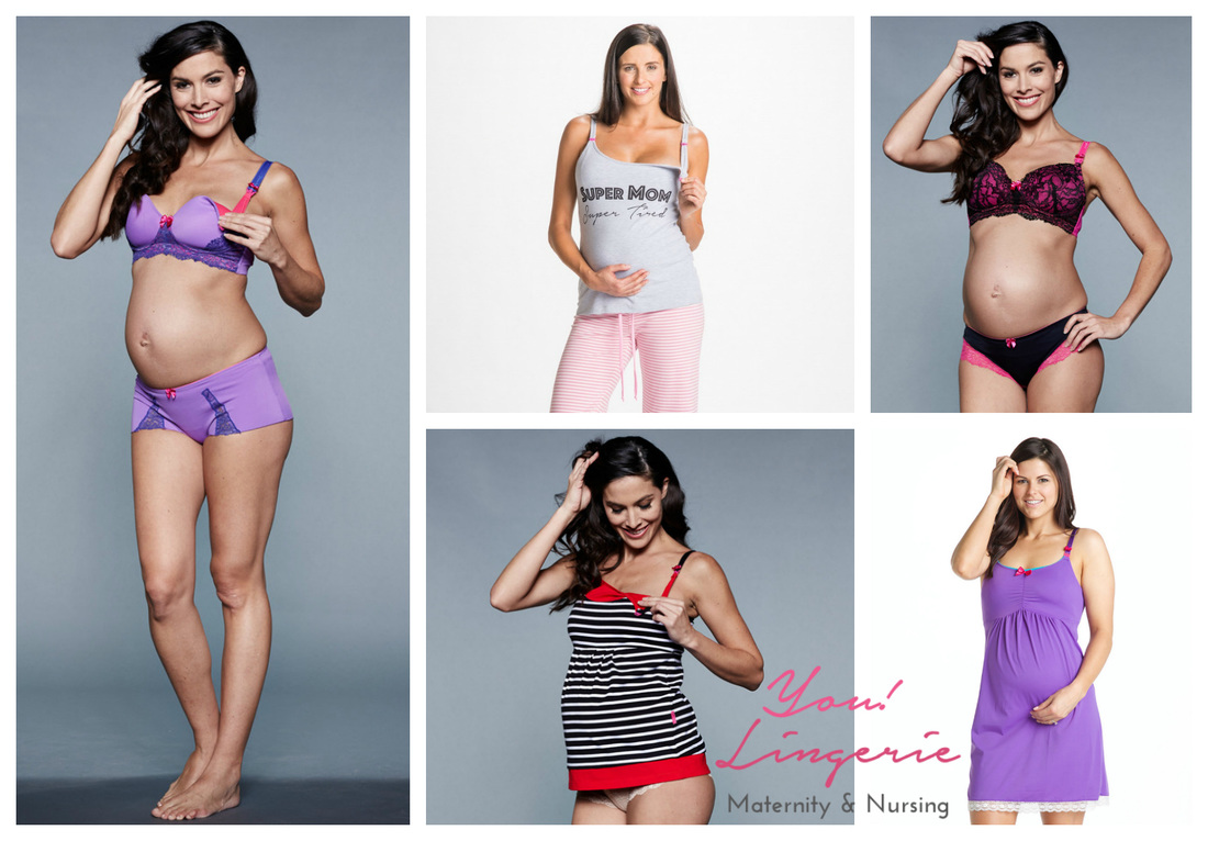 US-Japan Fam loves You! Lingerie for pregnant and nursing mamas.
