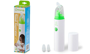 US-Japan Fam loves BabySmile Portable Nasal Aspirator