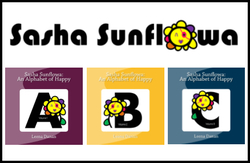 US-Japan Fam Back To School Giveaway - Sasha Sunflowa Alphabet Books