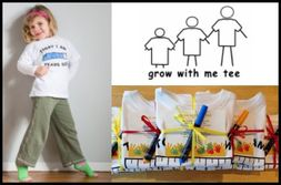 US-Japan Fam Back To School Giveaway - Grow With Me Tee