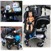 US Japan Fam loves StrollAir MyDuo Stroller for Twins