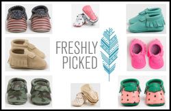 US-Japan Fam Back To School Giveaway - Freshly Picked Baby Moccasins