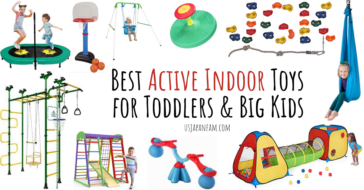 The Best Indoor Active Toys & Play Gyms for Kids!