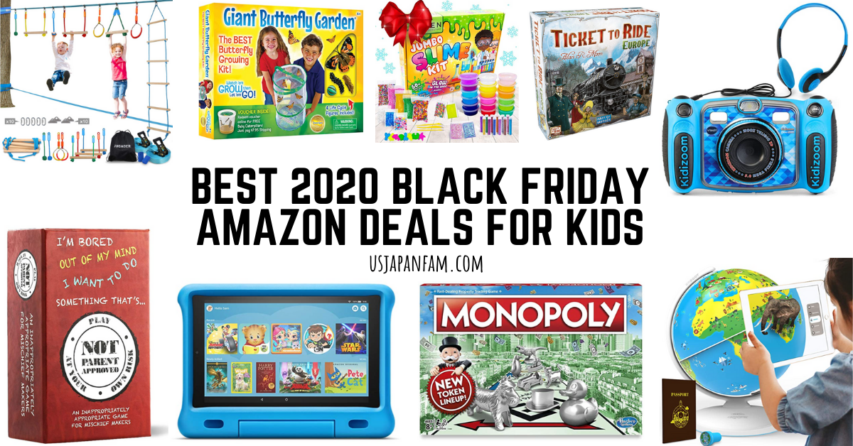 US Japan Fam's Best 2020 Black Friday Deals on Amazon for Kids