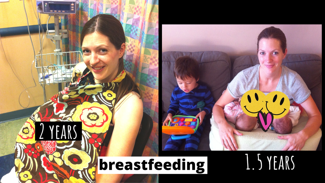 US Japan Fam - Comparing my singleton and twin pregnancy - extended breastfeeding and tandem breastfeeding twins