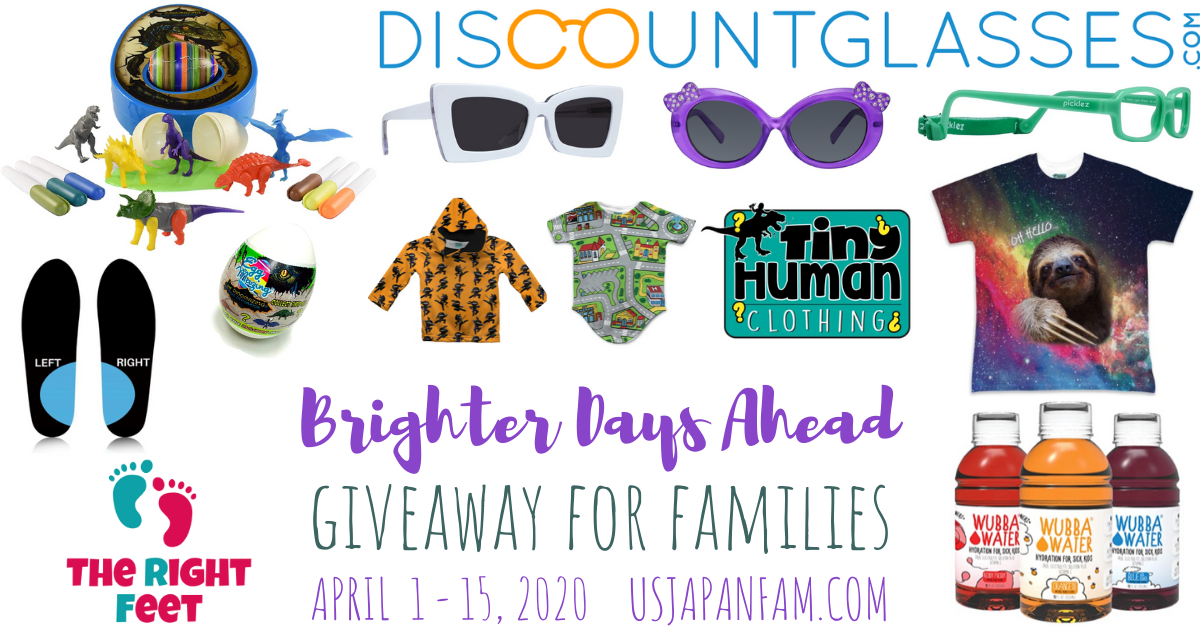 US Japan Fam's Brighter Days Ahead Giveaway for Families