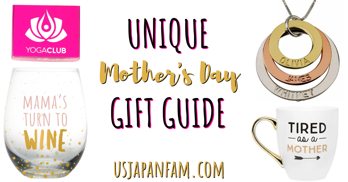 US Japan Fam's Unique Mother's Day Gift Guide